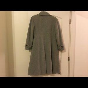 Wool cashmere blend coat